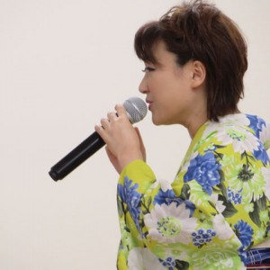 井上由美子 港しぐれ 楽園堂キャンペーン 2015年8月27日