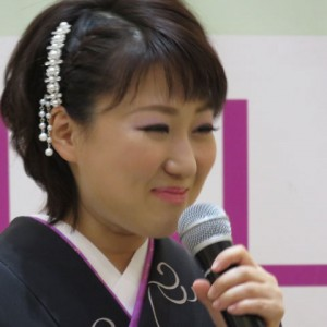 井上由美子 イオンモール下妻 港しぐれキャンペーン