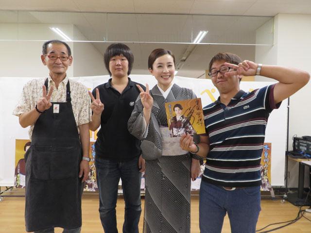 水田竜子 木曽川みれん キャンペーン 2016年8月11日