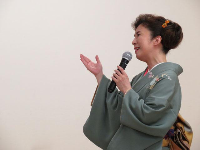 青木美保 秋燕 楽園堂 2016年10月2日