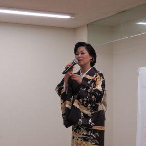 島津悦子 紅ひと夜 楽園堂キャンペーン 2016年10月9日