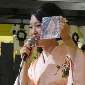 山口瑠美 夕顔の坂 イオンモール小山 2016年11月13日