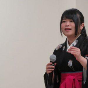 中西りえ おんな花火師花舞台 2017年1月7日