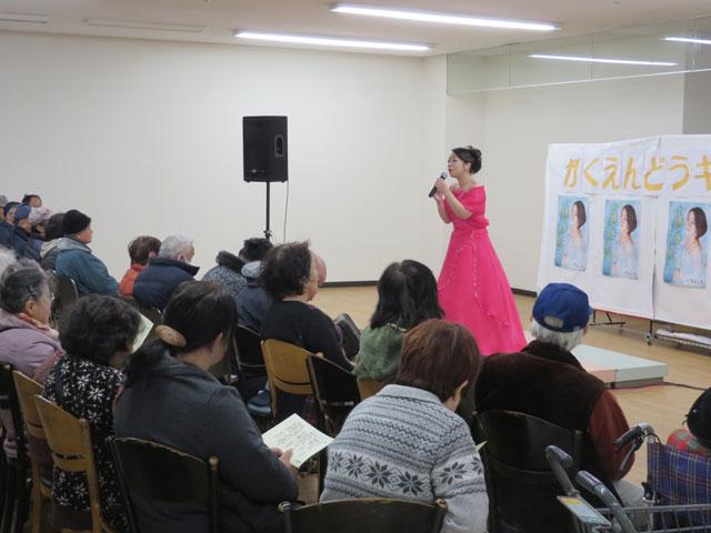 戸川よし乃 十勝の春~ふるさとに春の雪~ 2017年1月21日